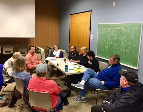 VMN Tidewater Chapter Board Meeting, March 2017