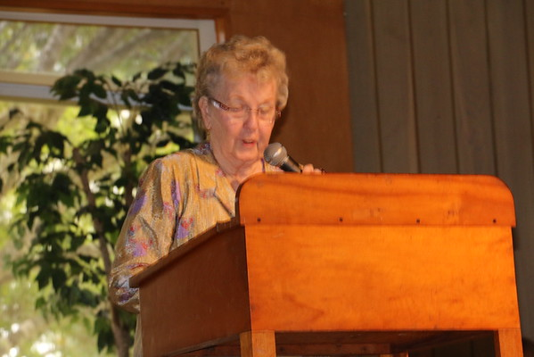 Marie Gartley, NG Leader for Pins and Needles gives her report.