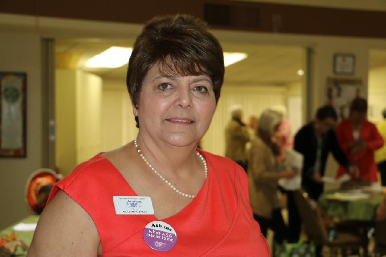 Paulette Braga, President 2014 and 2015