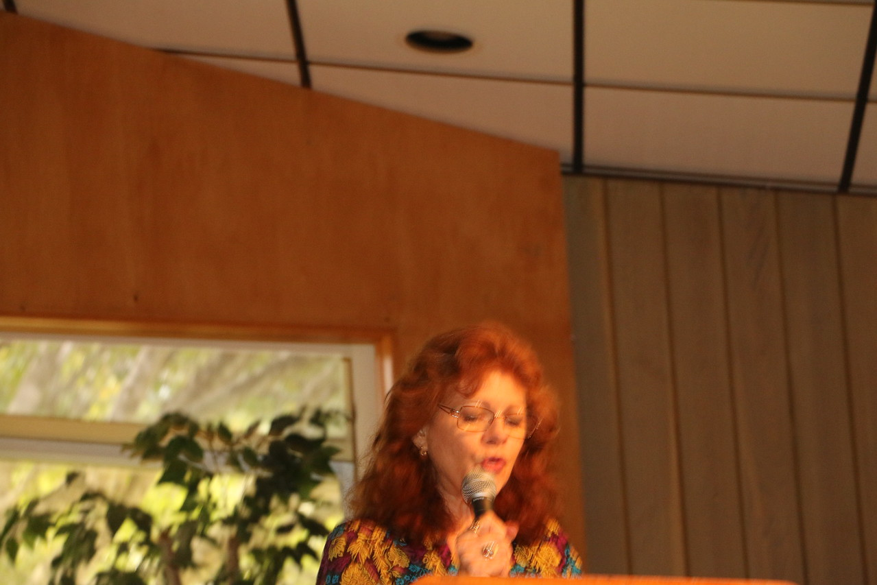 Kathleen Heinicke, NG Leader of Creative Sassy Sewers, gave her report