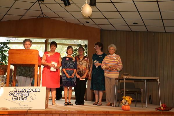 2015 Chapter Advisory Board. Elected Officers (from left to right): Paulette Braga, President; Barb Mallek, 1VP/Membership Chair; Mary Jane Fuller, 2VP/Events Chair; Debbie Chegwidden, Secretary; Barb VanBuren, Treasurer.