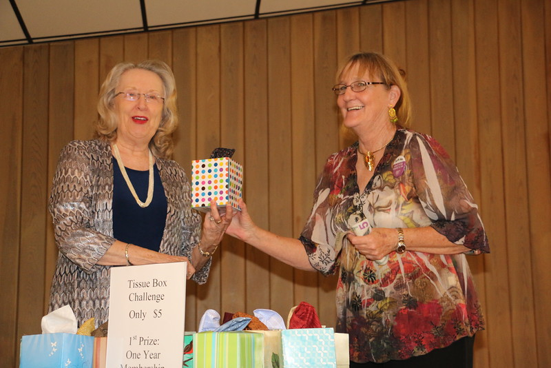 Mary Jane kicks off the 2015 Spring Fling mystery challenge
