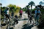 Off Road Biking Trip at Bear Island Big Cypress Preserve led by Pat