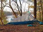 Camping at Torreya State Park<br /> photo credit: Robert Jones / Florida Trail Association