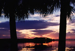 Sunset at St. Marks NWR<br /> photo credit: Bart Smith / Florida Trail Association