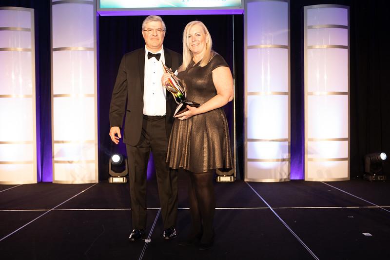 Community Service Company Award - Paige Insalaco, Trapp Technology