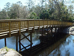 Bridge over the Econ<br /> photo credit: Seminole County / Florida Trail Association