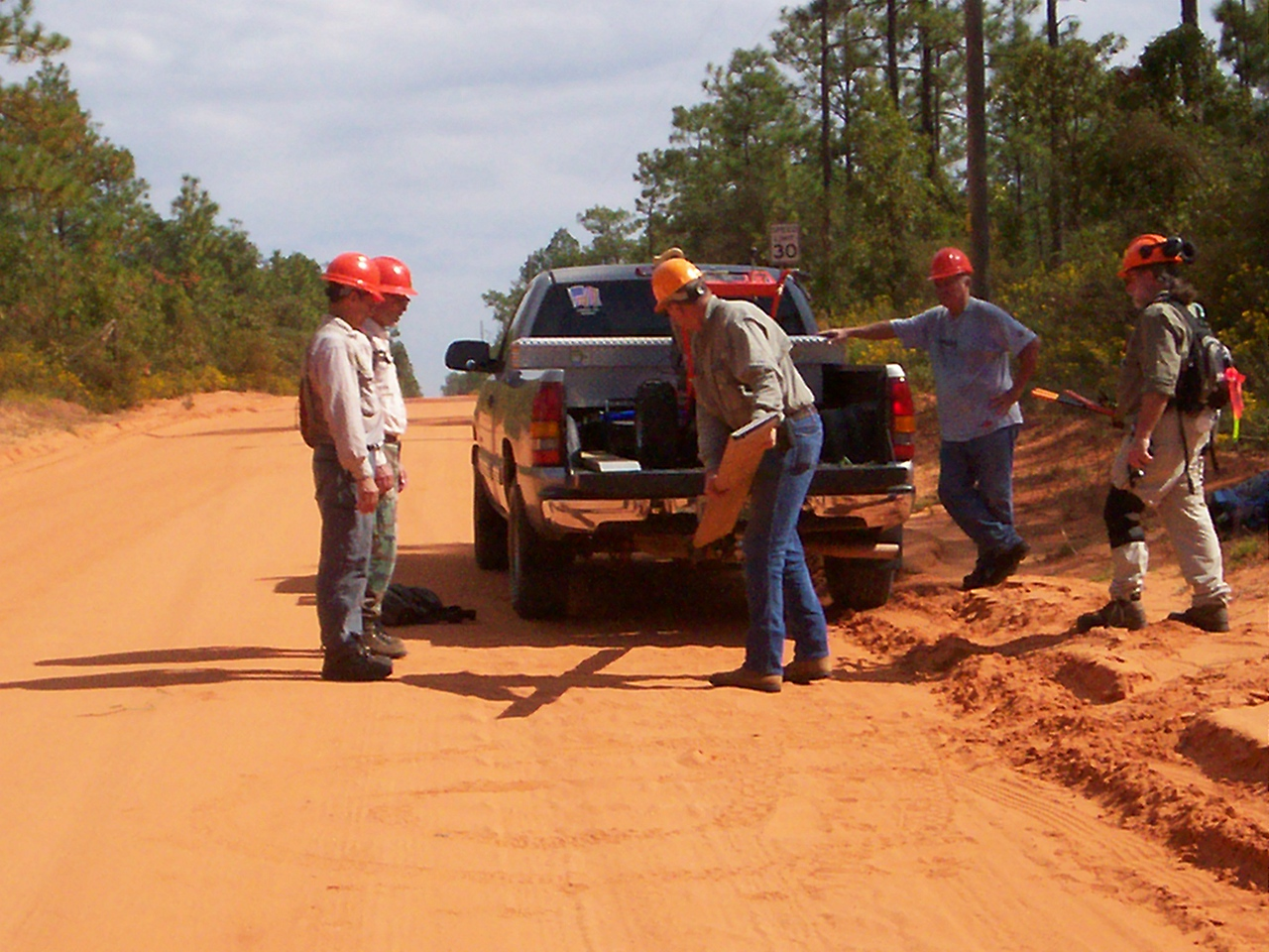 Work on Yellow River Ravines section