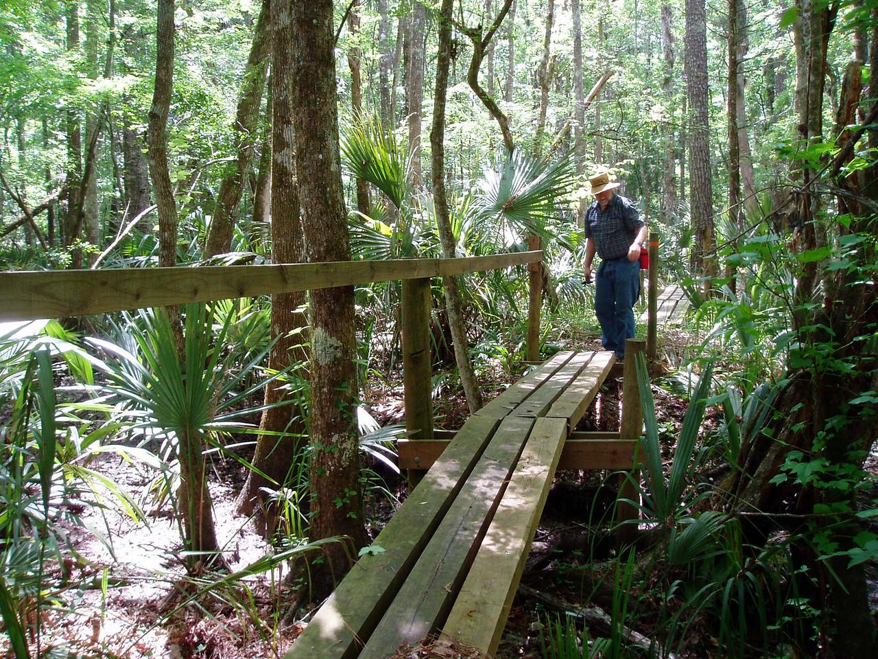 Hoffman's Crossing<br /> photo credit: Deb Blick / Florida Trail Association