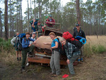 Backpacking, Big Cypress North