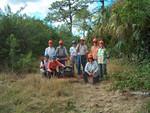 Trail maintenance, Big Cypress North