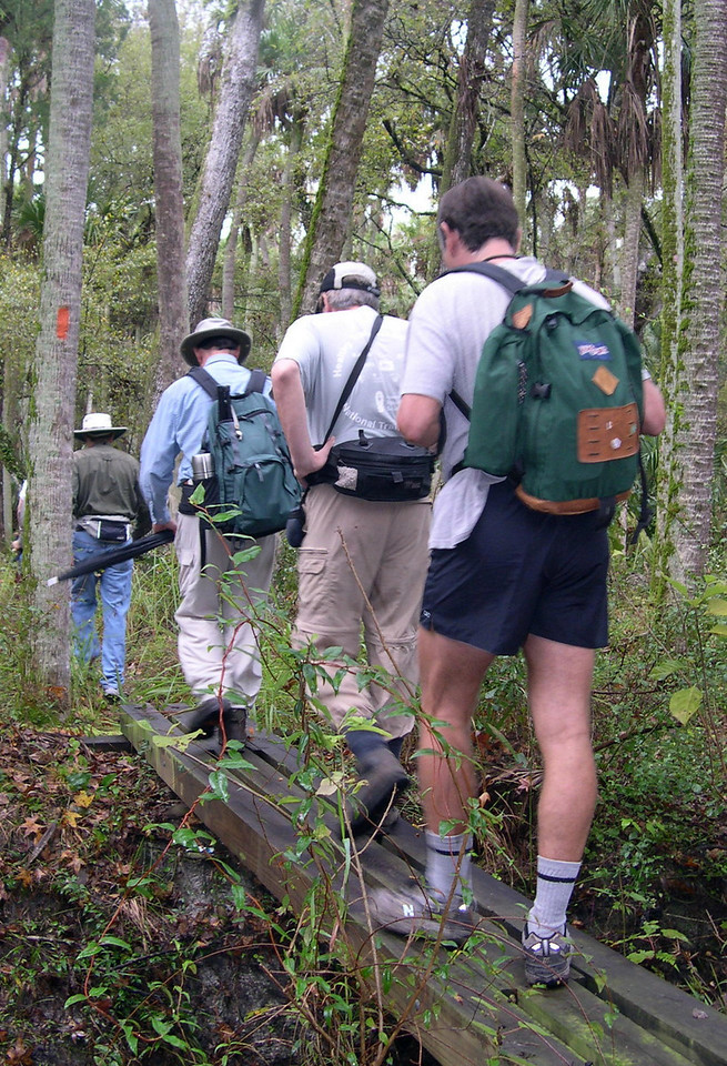 Florida Trail Hike at Seminole Ranch<br /> photo credit: Susan Young / Florida Trail Association