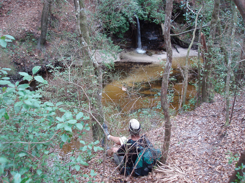 Econfina Falls<br /> photo credit: Robert Coveney / Florida Trail Association