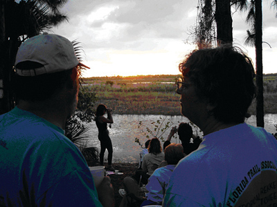 Chapter activity at Savannas State Preserve
