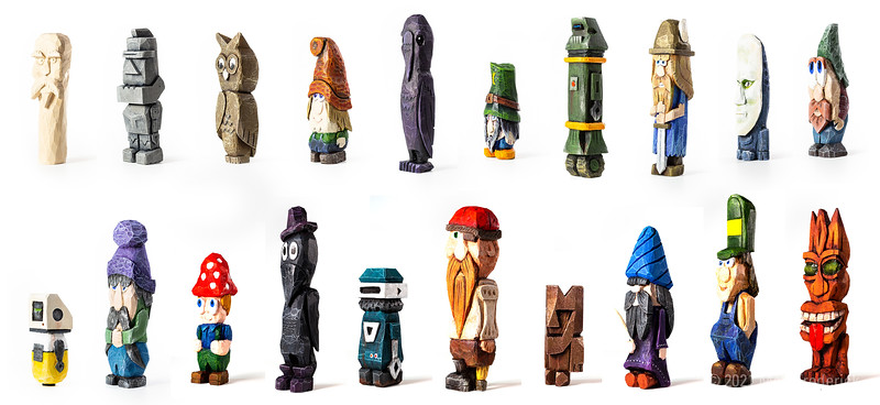 Character Carvings
