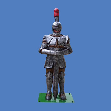 Standing Knight, 7'H #8021