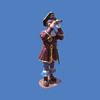 Pirate With Spyglass, 6'H #8046