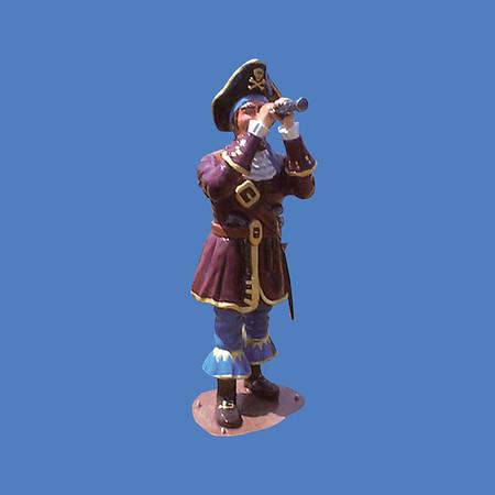 Pirate With Spyglass #8046