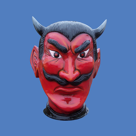 Devil Head, 6'H  #6029