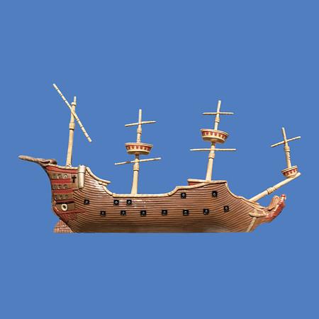 Pirate Ship Relief, 22'L #9055