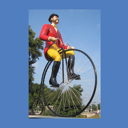 Biker, 30'H  #8013