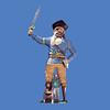 Pirate, 21'H  #8049