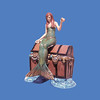 Mermaid on Treasure Chest #8028