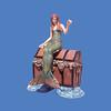 Mermaid on Treasure Chest #8028