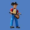 Mufflerman Cowboy, 20'H  #6112