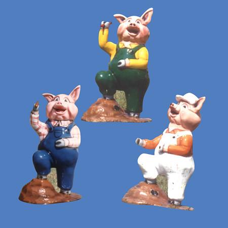 Little Pig, 3'H  #7087