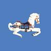 Carousel Horse #7154