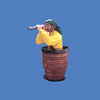 Pirate in Crow's Nest  #8044