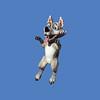 Big Bad Wolf, 5'H  #7124