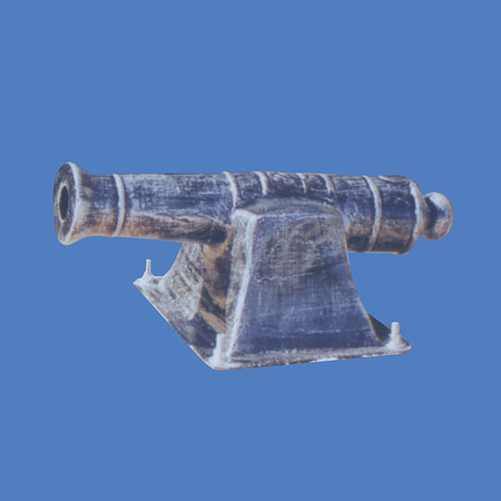 "Cannon, 1'6""L  #9104<br /> Cannon, 5'L  #9105<br /> Cannon, 7'L  #9106"
