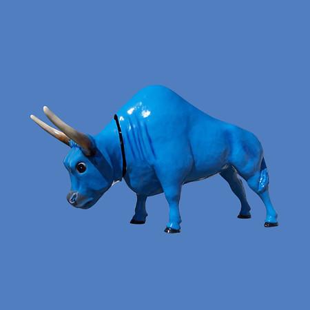 Blue Ox, 9'H #7256