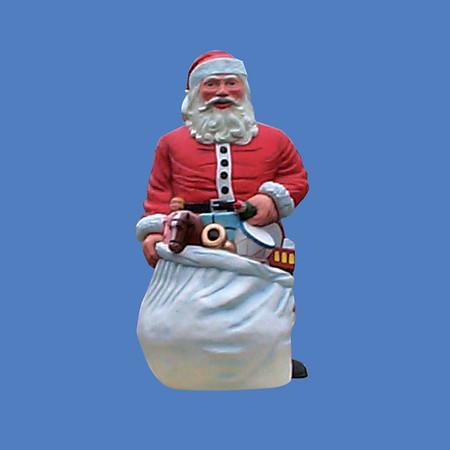 Santa, 9'H  #8077<br /> Santa, 6'H  #8103