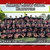 5x7 7th Grade Football