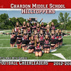 8x10 Football Cheerleaders