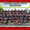 5x7 8th Grade Football