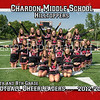 5x7 Football Cheerleaders