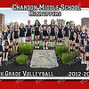 5x7 8th Grade Volleyball