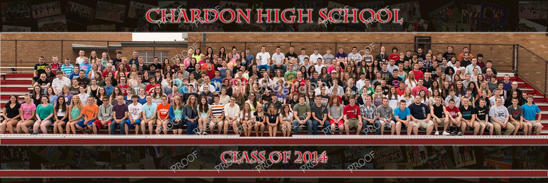 Chardon High Panorama 30 x10 2013-2014