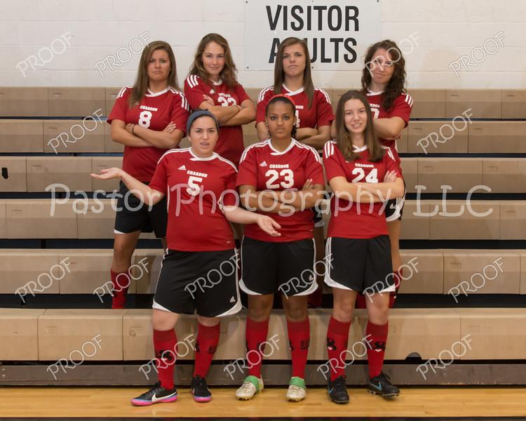 Girls Soccer Seniors Fun