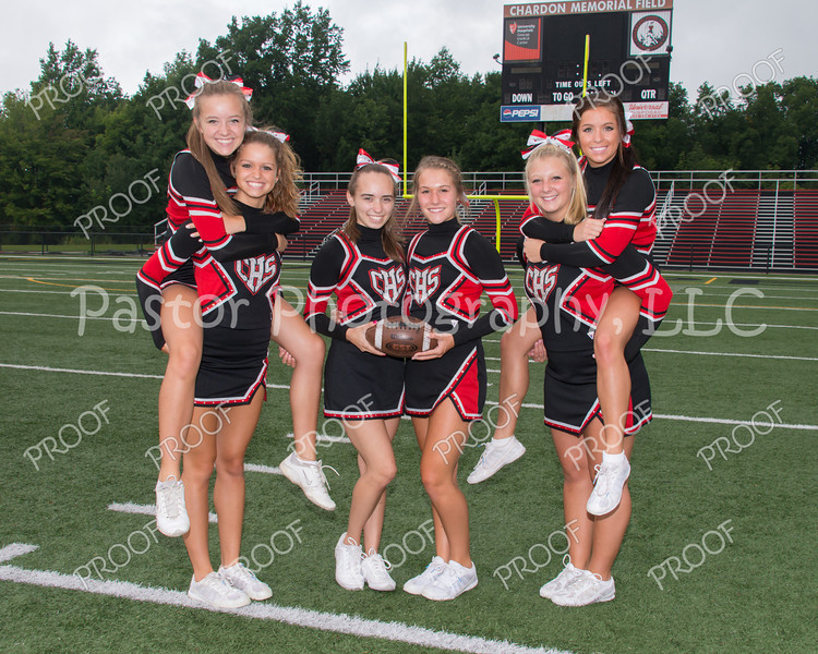 Cheerleader Seniors