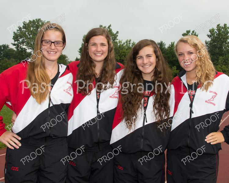 Girls Cross Country Seniors