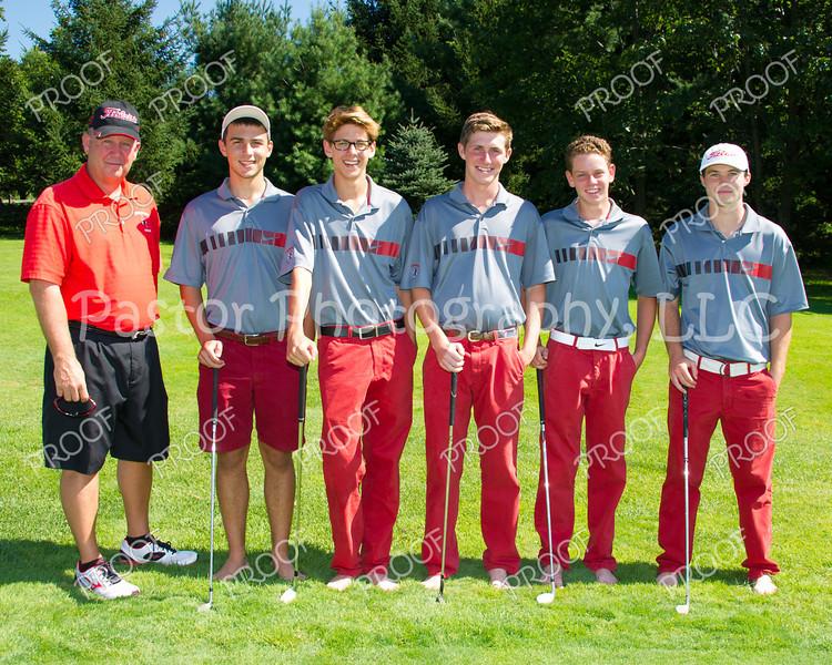 Varsity Golf Team