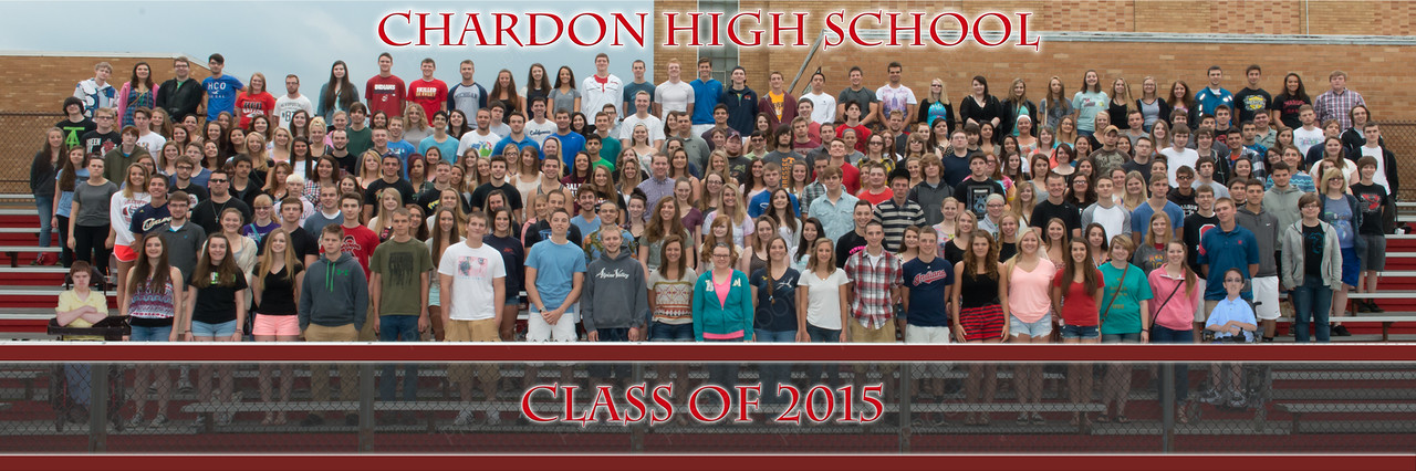 Chardon High Panorama 30 x 10 2014-2015