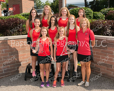 CHS Girls JV Tennis