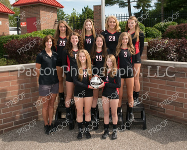 CHS JV Girls VB