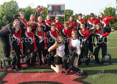 CHS Band Seniors Fun